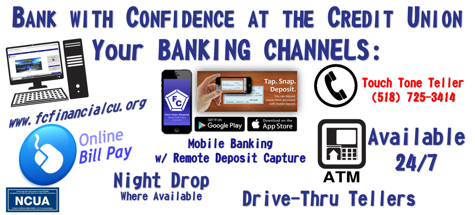 Photo of  BANKING CHANNELS